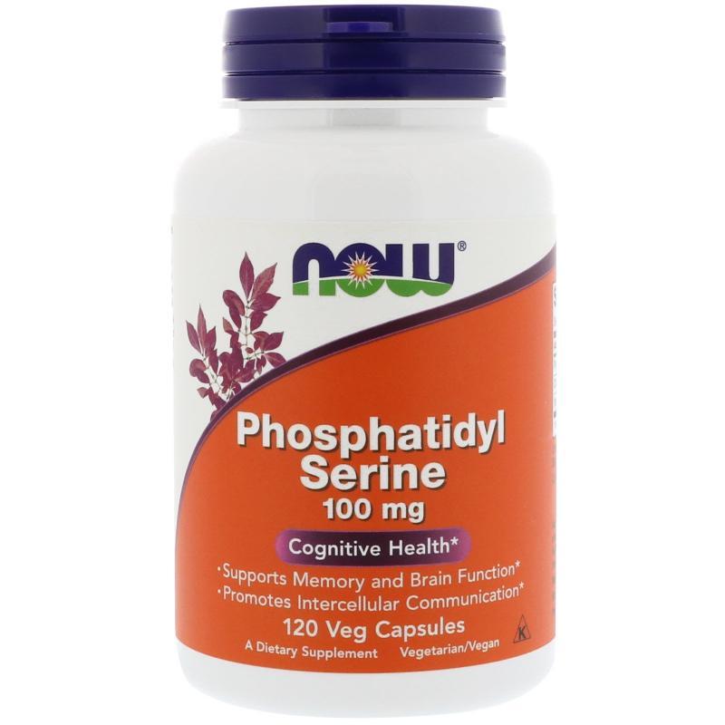 Now Foods Phosphatidyl Serine 100 mg 120 caps - фото 1
