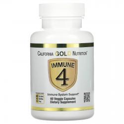 California Gold Nutrition Immune 4 60 capsules