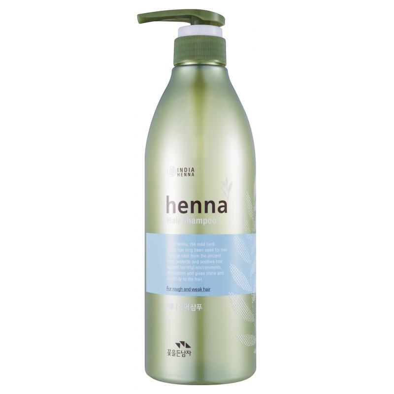 Шампунь для волос с хной Flor De Man Henna Hair Shampoo 730 ml - фото 1