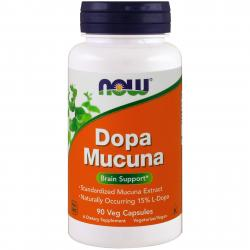 Now Foods Dopa Mucuna 90 Vcapsules