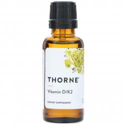 Thorne Research Vitamin D/K-2 30 ml