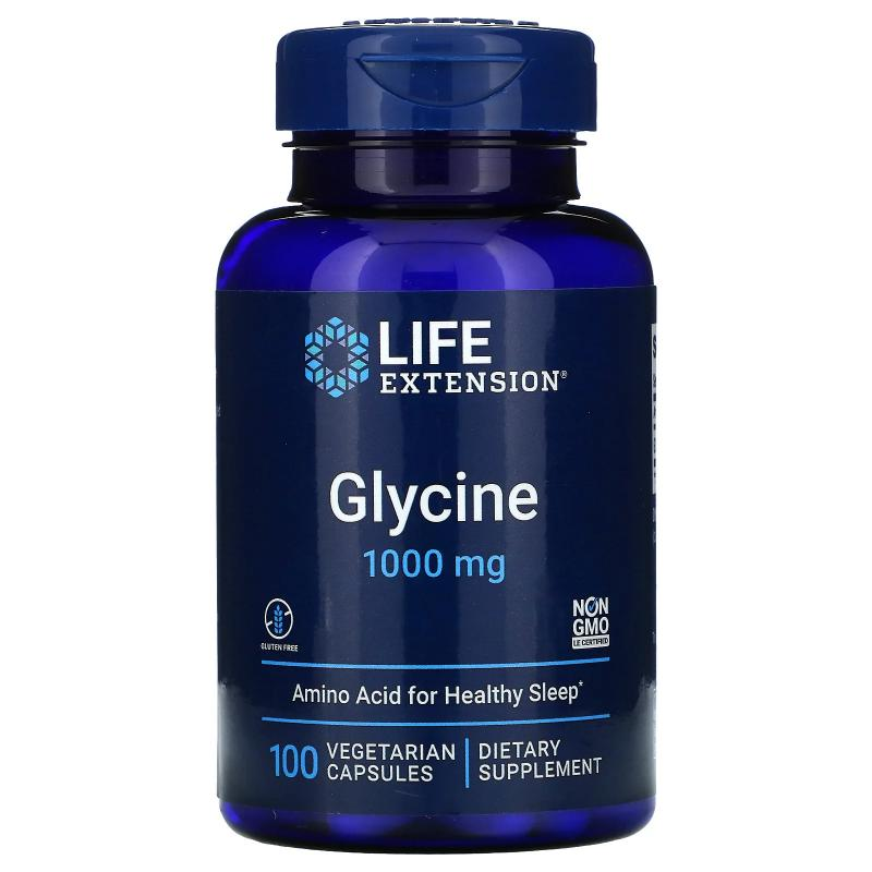 Life Extension Glycine 1000 мг 100 capsules - фото 1