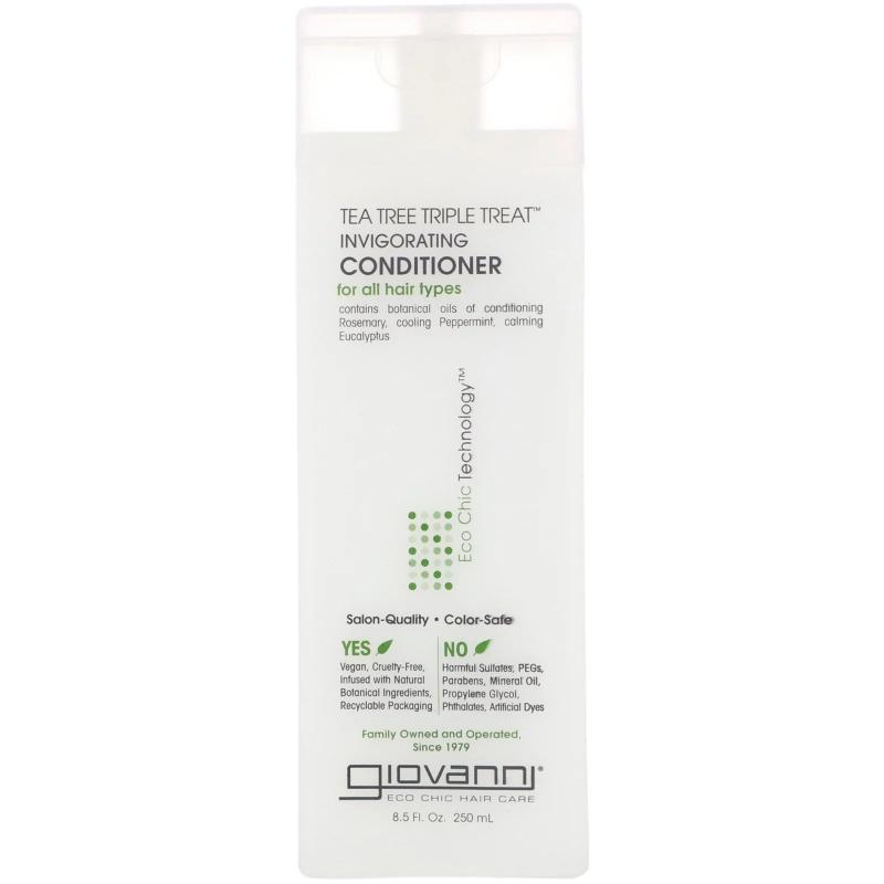 Кондиционер Giovanni Conditioner Tea Tree Triple Treat Invigorating 250 ml - фото 1