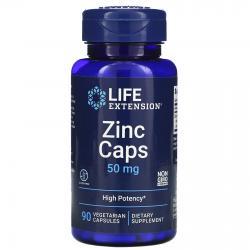 Life Extension Zinc caps 50 mg 90 capsules