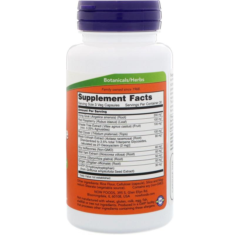 Now Foods Menopause Support 90 vcaps - фото 1