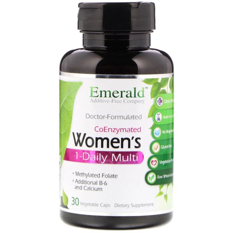 Emerald Laboratories CoEnzymated Women's 1-Daily Multi 30 caps - фото 1