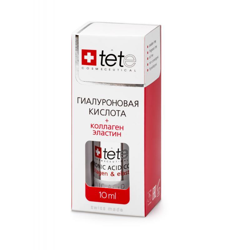 TETe Cosmeceutical МИНИ Гиалуроновая кислота + Коллаген и эластин 10 мл - фото 1