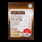 JAPAN GALS Pure5 Essence Mask Тканевая маска с коллагеном 1 шт - фото 1