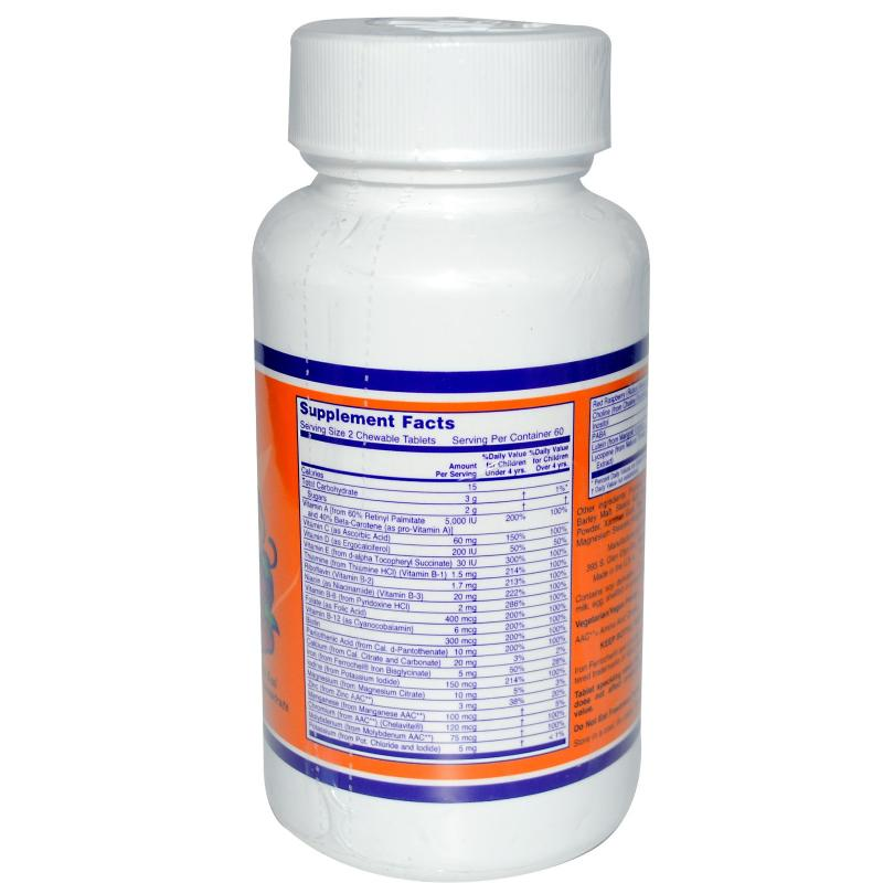 Now Foods Kid Vits 120 Chewables - фото 1