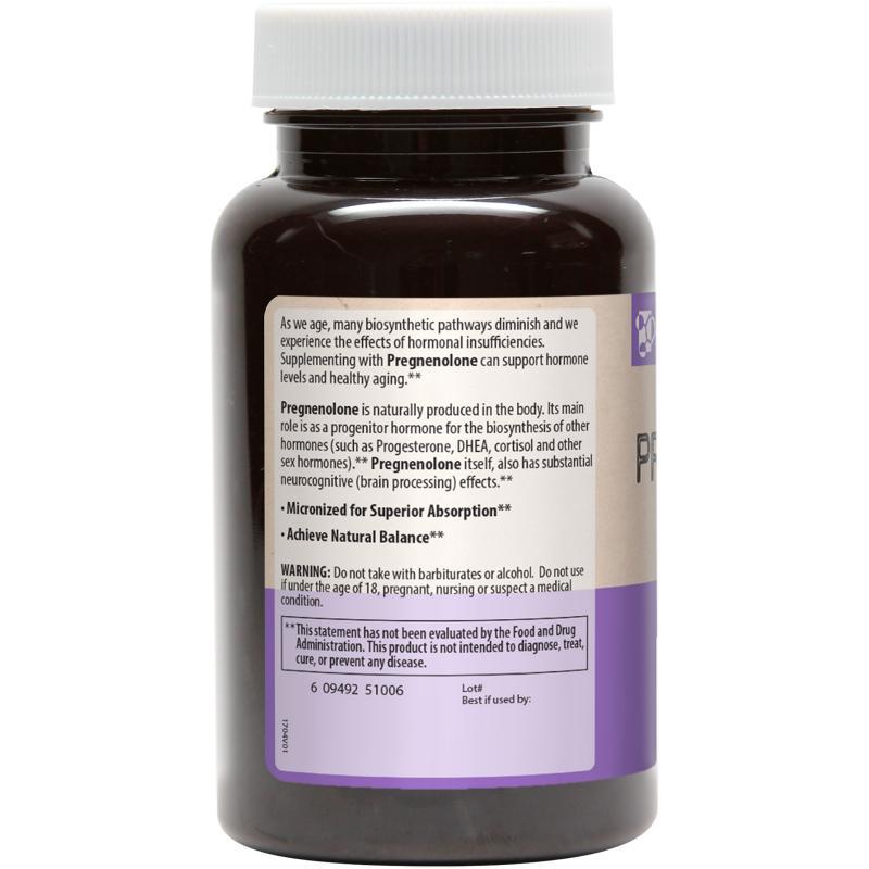 MRM Pregnenolone 50 mg 60 caps - фото 1
