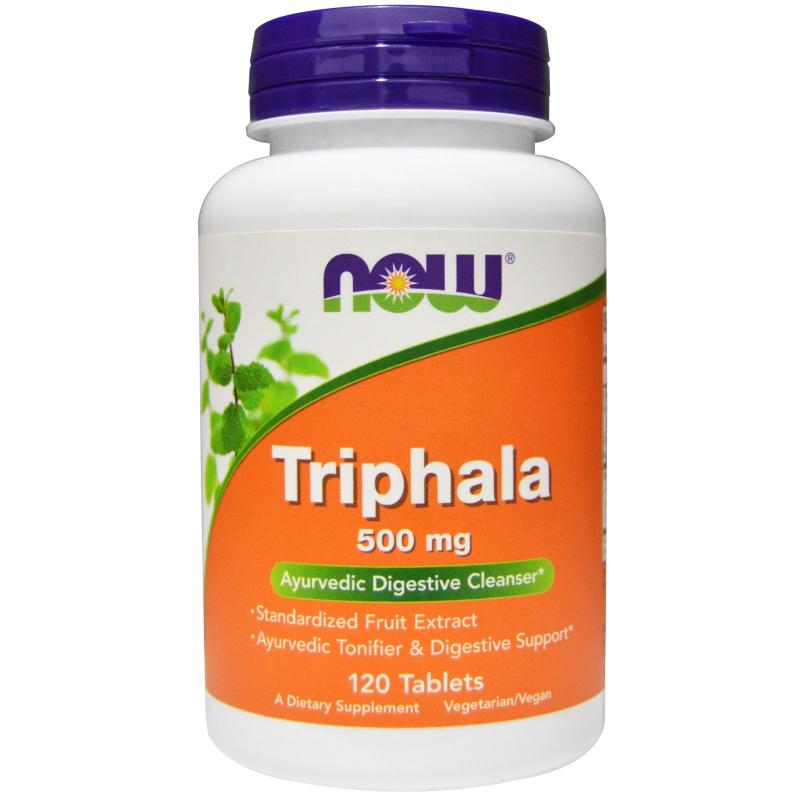 Now Foods Triphala 500 mg 120 tab - фото 1