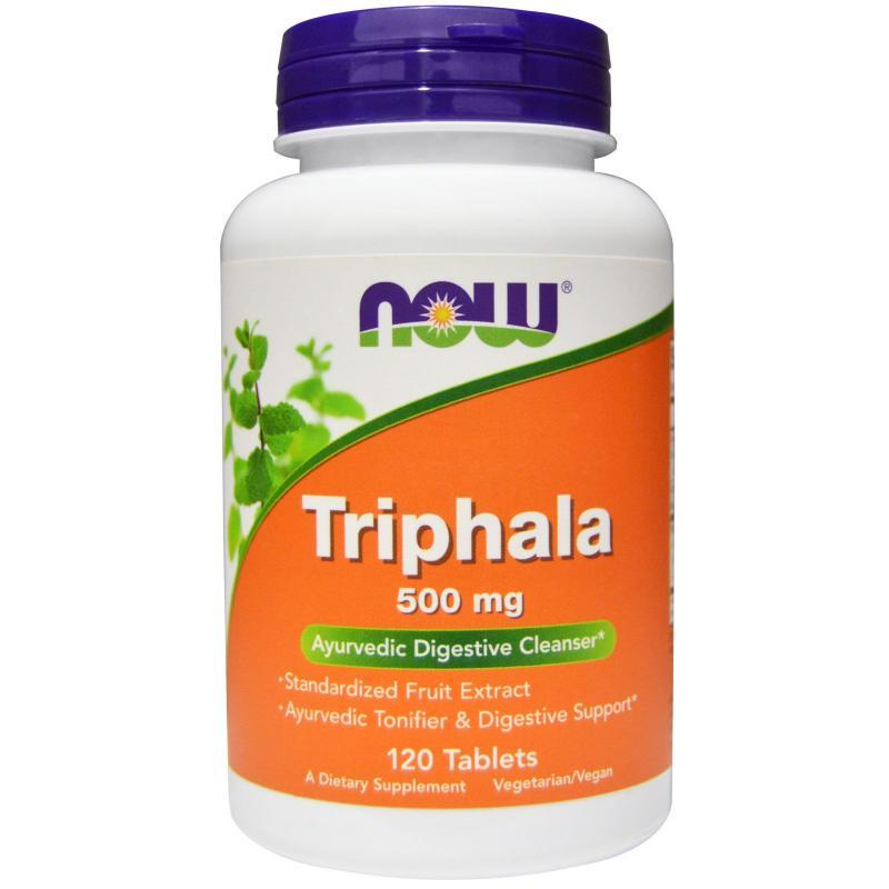 Now Foods Triphala 500 mg 120 tab - фото 1