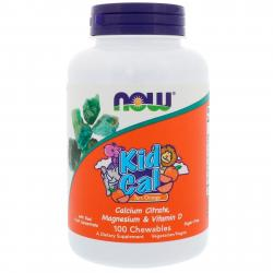 Now Foods Kid Cal Calcuim Citrate 100 Chewables
