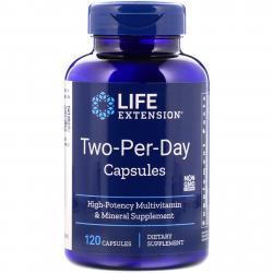 Life Extension Two-Per-Day 120 capsules