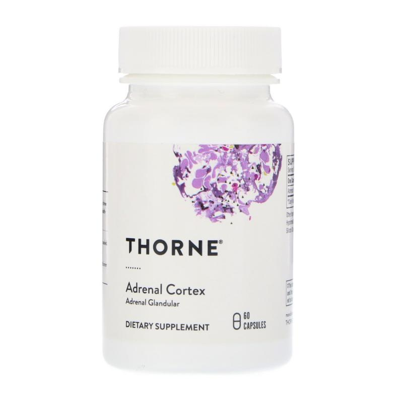 Thorne Research Adrenal Cortex 60 capsules - фото 1