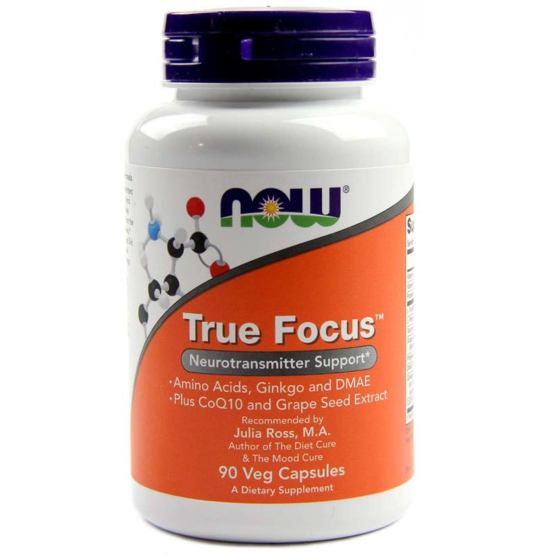 Now Foods True Focus 90 vcaps - фото 1