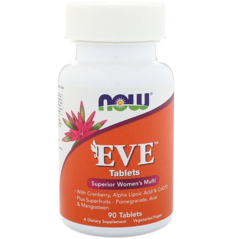 Now Foods EVE Superior Women's Multi 90 tablets - фото 1