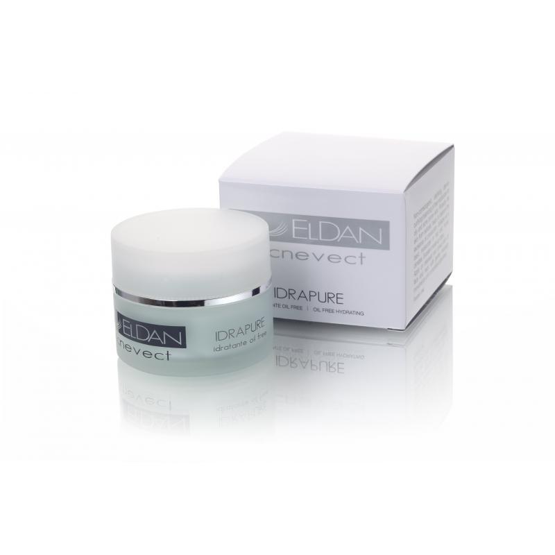 Eldan Idrapure oil free hydrating Очищающий крем для проблемной кожи 50 мл - фото 1