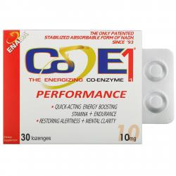 Co E1 Enada Co-Enzyme 10 mg 30 lozenges