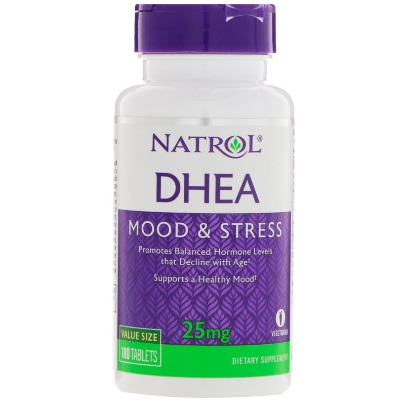 Natrol Dhea 25 mg 180 tablets - фото 1