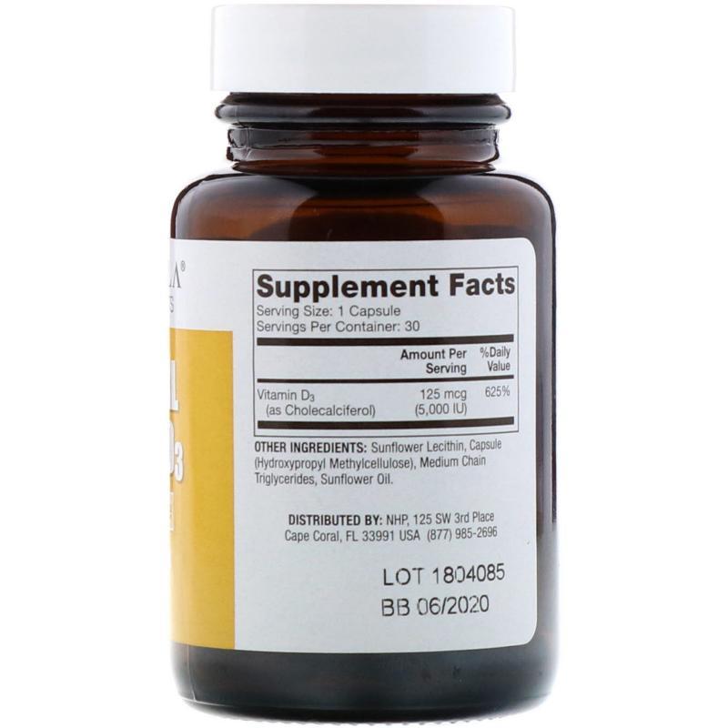 DR. Mercola Liposomal Vitamin D-3 5,000 IU 30 capsules - фото 1