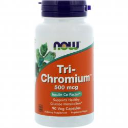 Now Foods Tri-Chromium 500 mcg 90 vcaps