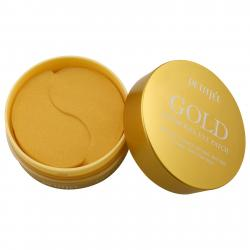 Petitfee Gold Hydrogel EYE Patch 60 патчи с золотым гидрогелем 60 шт
