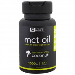 Sports Research MCT Oil coconut 1000 mg 120 softgels