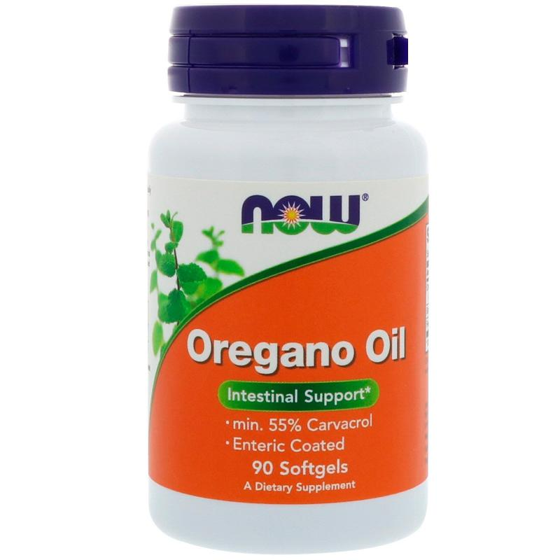 Now Foods Oregano Oil 90 Softgels - фото 1