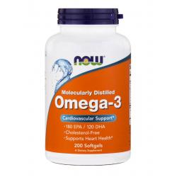 Now Foods Omega-3 180 EPA / 120 DHA 200 softgels