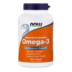 Now Foods Omega-3 180 EPA / 120 DHA 200 softgels