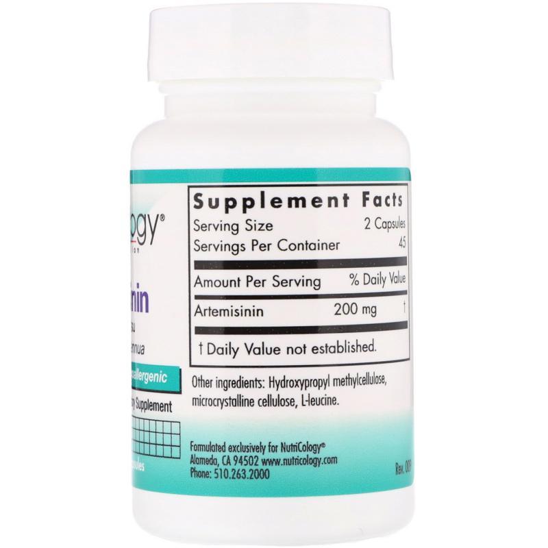 NutriCologi Artemisinin 100 mg 90 vcaps - фото 1