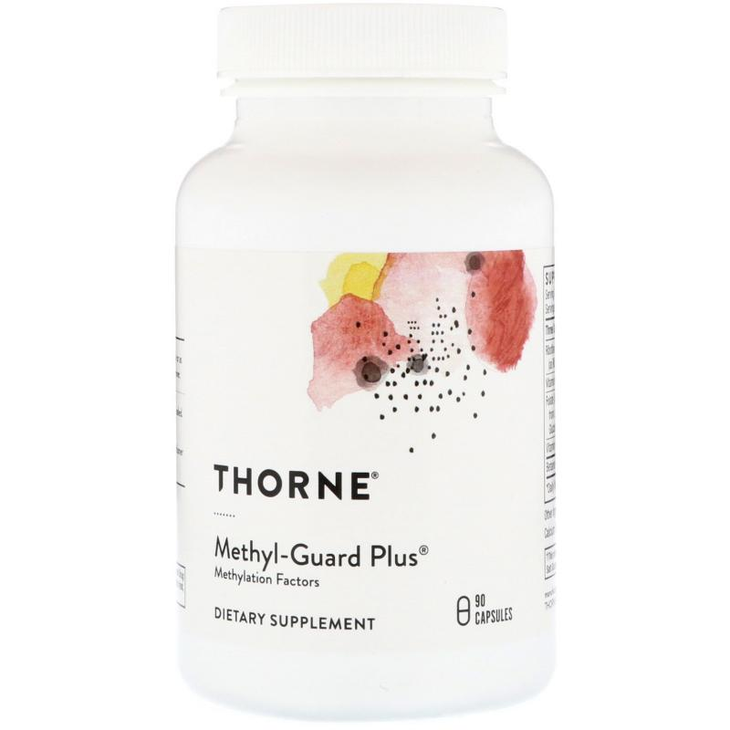 Thorne Research Methyl-Guard Plus 90 capsules - фото 1