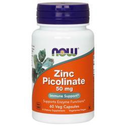 Now foods Zinc Picolinate 50 mg 60 caps