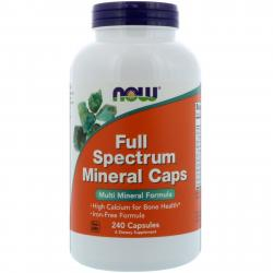 Now foods Full Spectrum Mineral Caps 240 caps