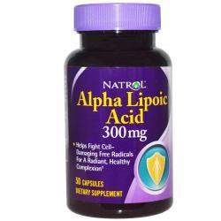 Natrol Alpha Lipoic Acid 300 mg 50 caps