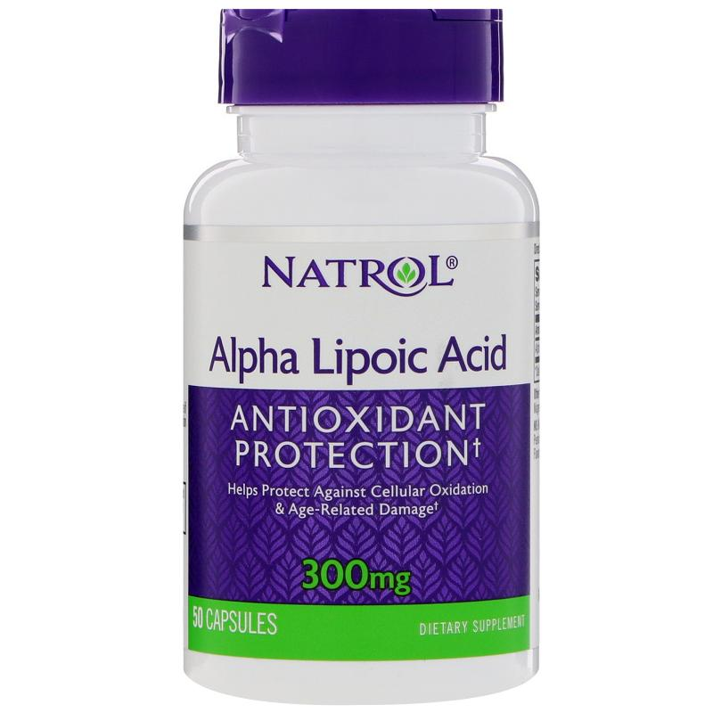 Natrol Alpha Lipoic Acid 300 mg 50 caps - фото 1