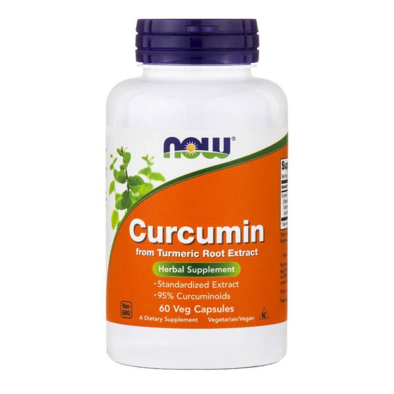 Now Foods Curcumin 60 vcaps - фото 1