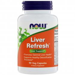 Now Foods Liver Refresh 90 Veg Capsules