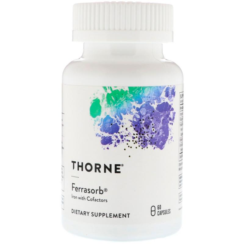 Thorne Research Ferrasorb 60 capsules - фото 1