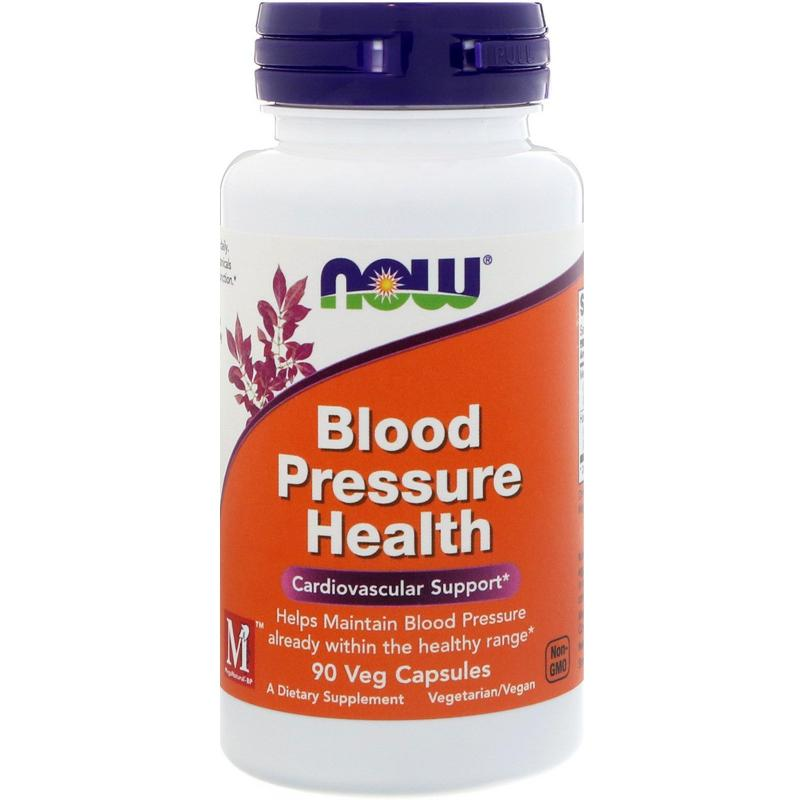 Now Foods Bloode Pressure Health 90 Veg Capsules - фото 1