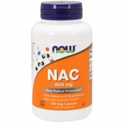 Now Foods NAC 600 mg 100 vcaps