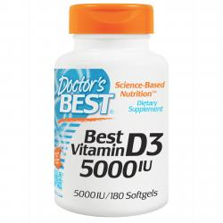 Doctor's Best D-3 5.000 IU 180 softgels