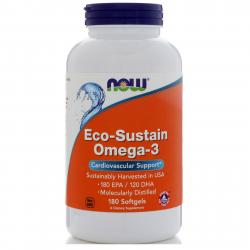 Now Foods Eco-Sustain Omega-3 180 softgels