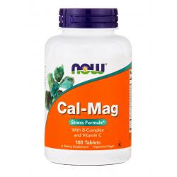 Now Foods Cal-Mag Stress Formula 100 tabs