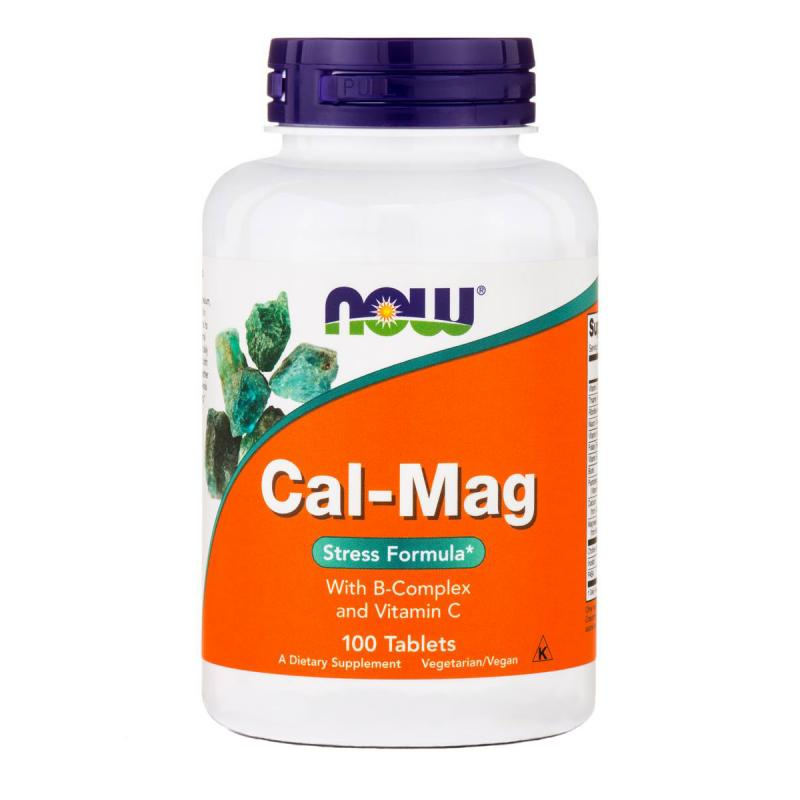 Now Foods Cal-Mag 100 tabs - фото 1