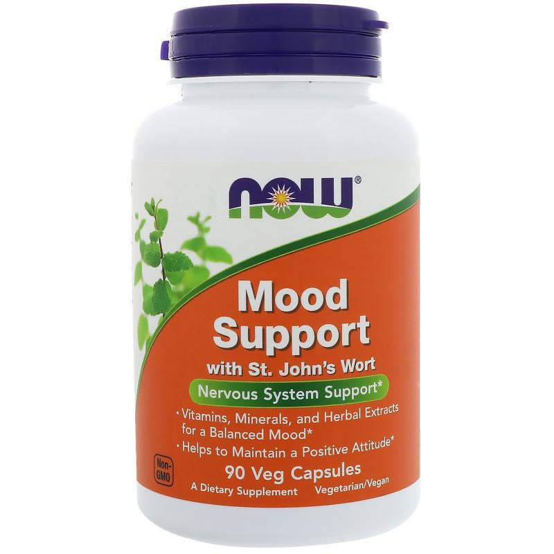Now Foods Mood Support 90 Vcapsules - фото 1