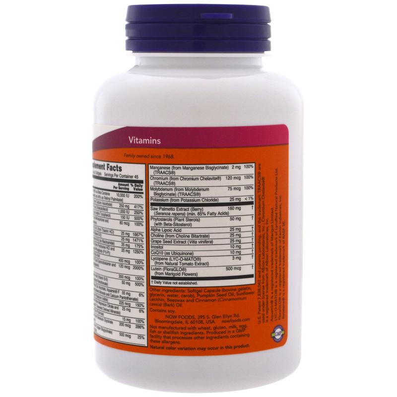 Now Foods ADAM 90 softgels - фото 1