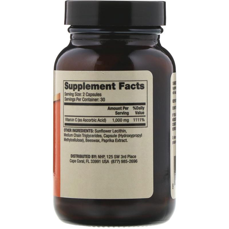 DR. Mercola Liposomal Vitamin C 1.000 mg 60 capsules - фото 1