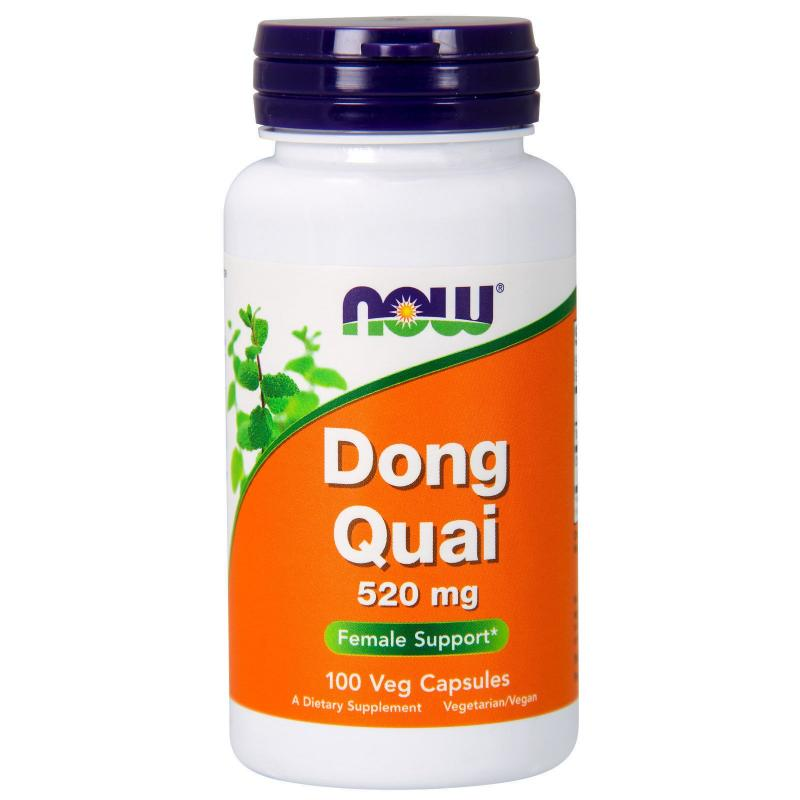 Now Foods Dong Quai 520 mg 100 vcaps - фото 1